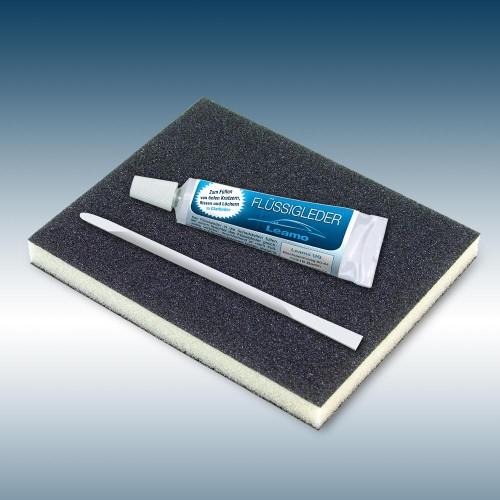 MERCEDES Flüssigleder 9ml von 'Leather-Doc' grau / grey